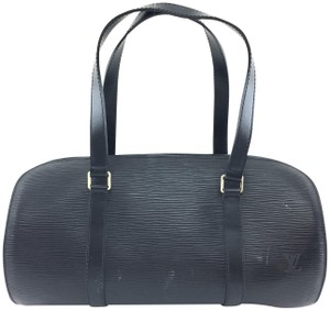 Louis Vuitton Satchel in epi black