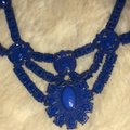 Forever 21 Blue Statement Necklace Forever 21 Blue Statement Necklace Image 5