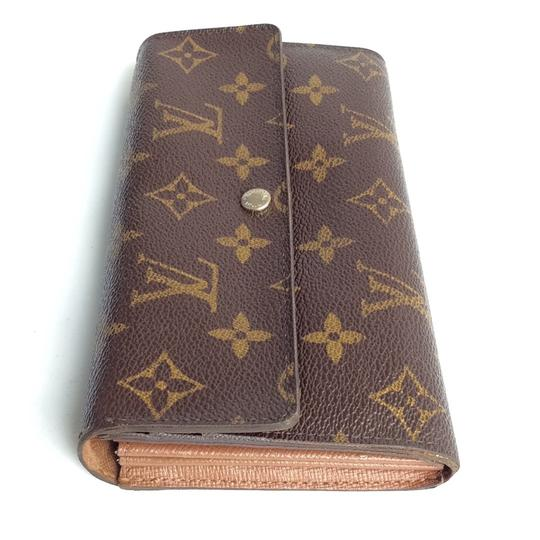 Louis Vuitton Monogramed Lv Sarah Bifold Wallet