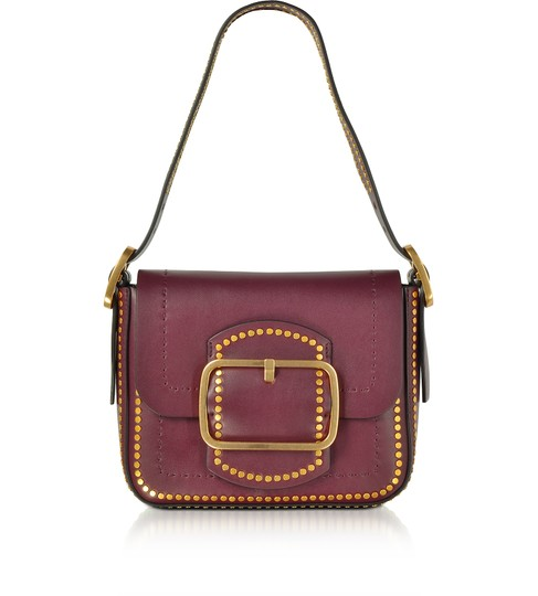 Preload https://item2.tradesy.com/images/tory-burch-sawyer-stud-port-burgundy-small-red-leather-shoulder-bag-23997391-0-0.jpg?width=440&height=440