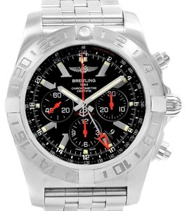 Breitling Breitling Chronomat GMT Black Dial Limited Edition Mens Watch AB0412