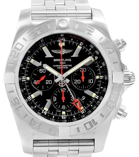 Preload https://item3.tradesy.com/images/breitling-black-chronomat-gmt-dial-limited-edition-mens-ab0412-watch-23997392-0-1.jpg?width=440&height=440
