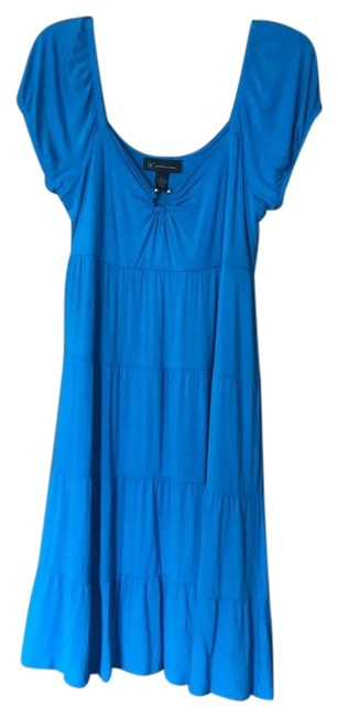 Preload https://img-static.tradesy.com/item/23997393/inc-international-concepts-blue-mid-length-short-casual-dress-size-14-l-0-1-650-650.jpg