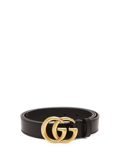 Preload https://img-static.tradesy.com/item/23997396/gucci-black-gg-leather-3cm-wide-size-95-belt-0-0-540-540.jpg