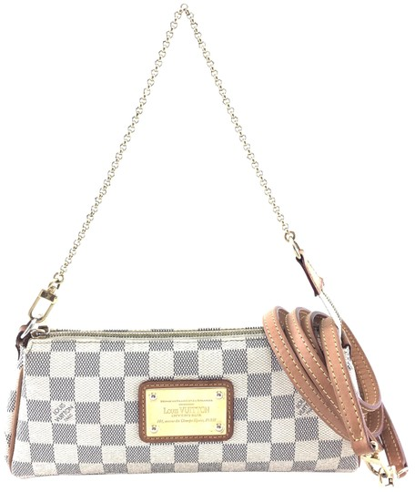 Preload https://item4.tradesy.com/images/louis-vuitton-eva-22012-discontinued-clutch-with-strap-cosmetic-evening-damier-azur-coated-canvas-cr-23997453-0-2.jpg?width=440&height=440