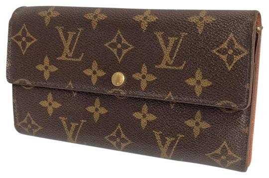 Preload https://img-static.tradesy.com/item/23997471/louis-vuitton-brown-monogramed-lv-long-bifold-wallet-0-1-540-540.jpg