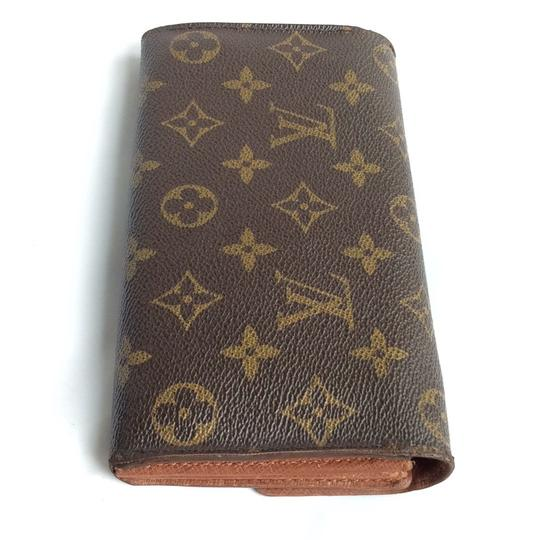 Louis Vuitton Monogramed Lv Long Bifold Wallet