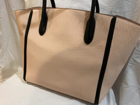 Kate Spade Tote in Pink with black trim