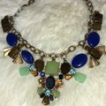 J.Crew Blue Green Statement Necklace J.Crew Blue Green Statement Necklace Image 2