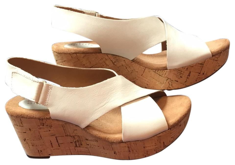 15c330a59afa Clarks White Platforms Size US 9 Regular (M