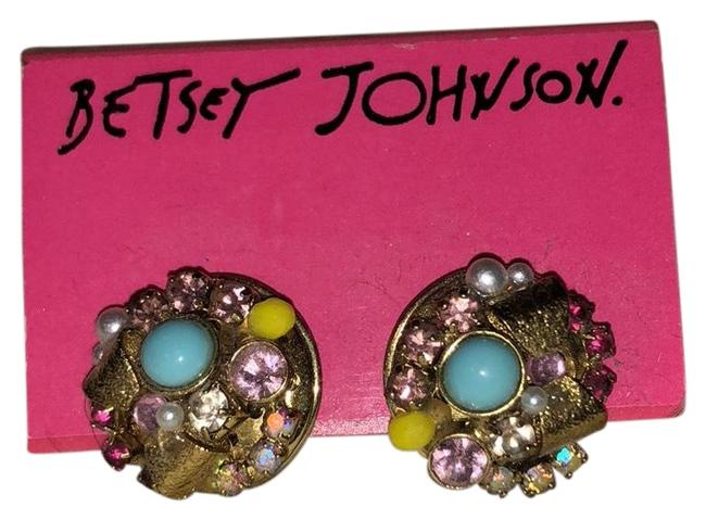 Betsey Johnson Multicolor Earrings Betsey Johnson Multicolor Earrings Image 1