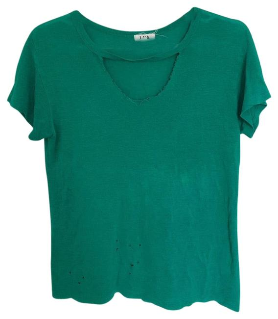 Preload https://item4.tradesy.com/images/lna-green-tee-shirt-size-0-xs-23997558-0-1.jpg?width=400&height=650
