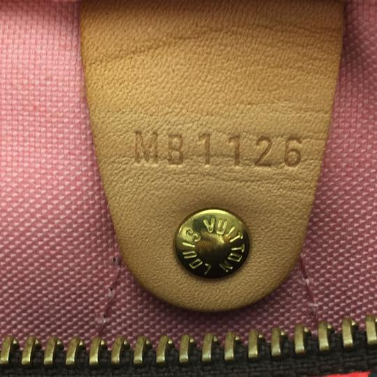 Louis Vuitton Satchel in Limited Edition Monogram with Jungle Canvas