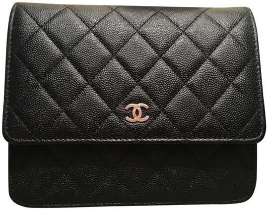 Preload https://item2.tradesy.com/images/chanel-wallet-on-chain-new-square-black-leather-cross-body-bag-23997586-0-2.jpg?width=440&height=440