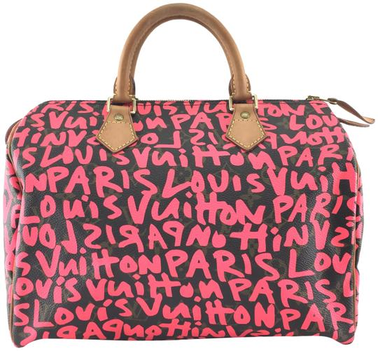 Preload https://img-static.tradesy.com/item/23997601/louis-vuitton-speedy-22014-rare-runway-collector-s-piece-30-boston-limited-edition-monogram-with-gra-0-2-540-540.jpg