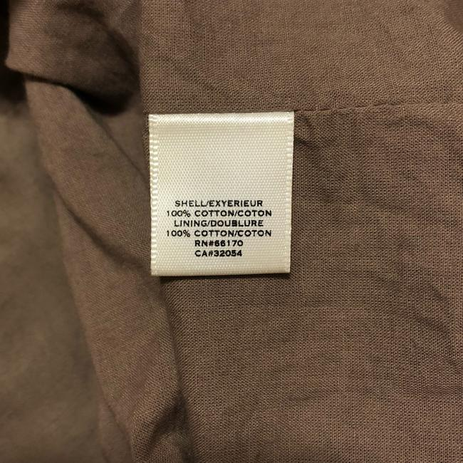 Anthropologie short dress Taupe Brown on Tradesy