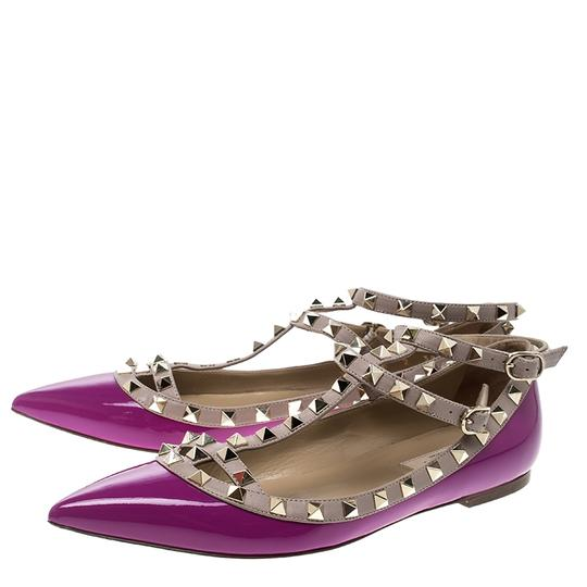 Valentino Purple Flats