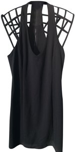 BLQ.MKT Cage Bodycon Above The Knee Party Dress