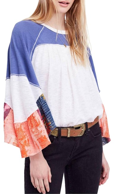 Preload https://item4.tradesy.com/images/free-people-ivory-friday-fever-tee-shirt-size-2-xs-23997638-0-1.jpg?width=400&height=650