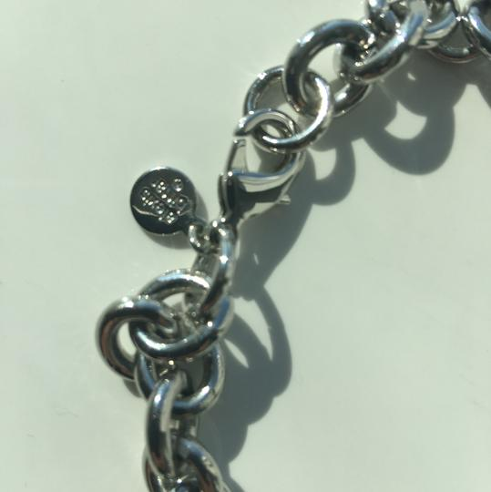 Alexis Bittar Alexis Bittar Silver Lucite Chain Link Necklace