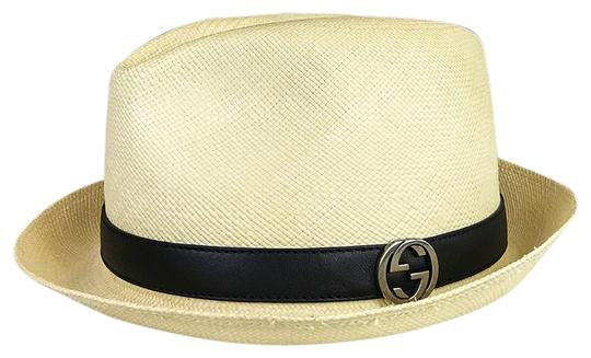 Preload https://item3.tradesy.com/images/gucci-beige-natural-straw-fedor-hat-23997667-0-1.jpg?width=440&height=440