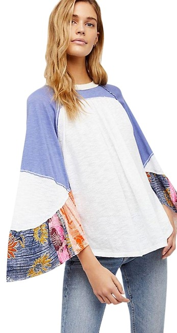 Preload https://item3.tradesy.com/images/free-people-ivory-friday-fever-tee-shirt-size-10-m-23997672-0-1.jpg?width=400&height=650