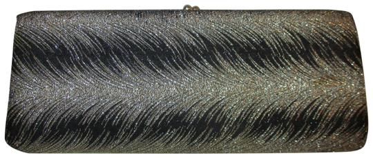 Preload https://item2.tradesy.com/images/vintage-evening-black-and-silver-textile-clutch-23997686-0-1.jpg?width=440&height=440