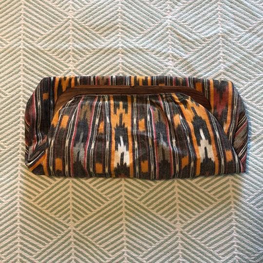 Unlisted Ikat Pattern Multi Clutch