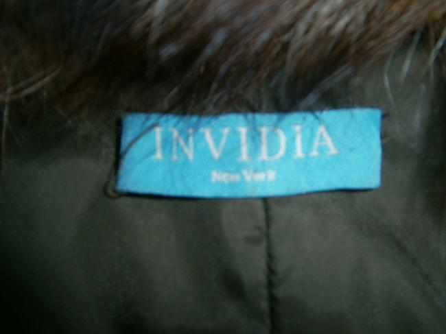 Invidia New York Embellished Beaded Fur Coat