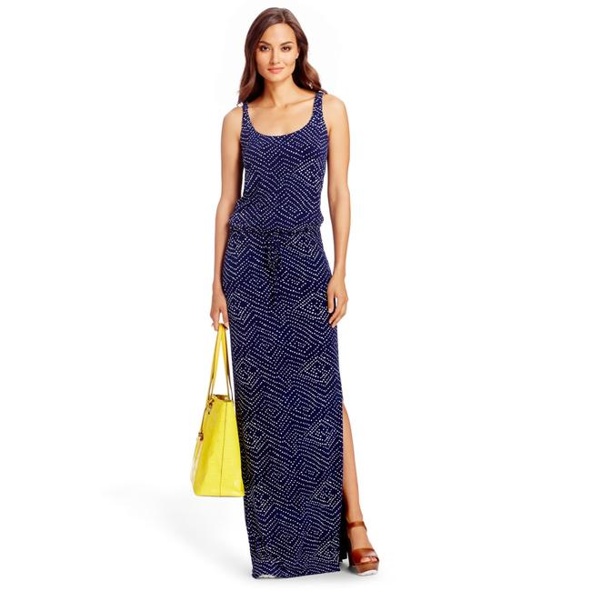 Preload https://item2.tradesy.com/images/diane-von-furstenberg-blue-dvf-sophie-dot-print-sleeveless-long-casual-maxi-dress-size-6-s-23997726-0-0.jpg?width=400&height=650