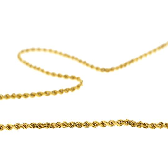 Other 14k Yellow Gold Hollow Rope Chain 20