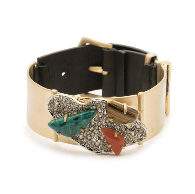 Alexis Bittar New Roxbury Cluster Leather Bracelet Alexis Bittar New Roxbury Cluster Leather Bracelet Image 1