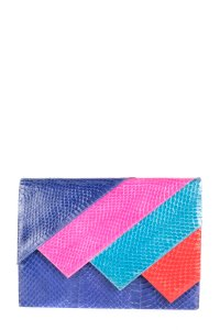 Andrea Pfister Couture blue Clutch