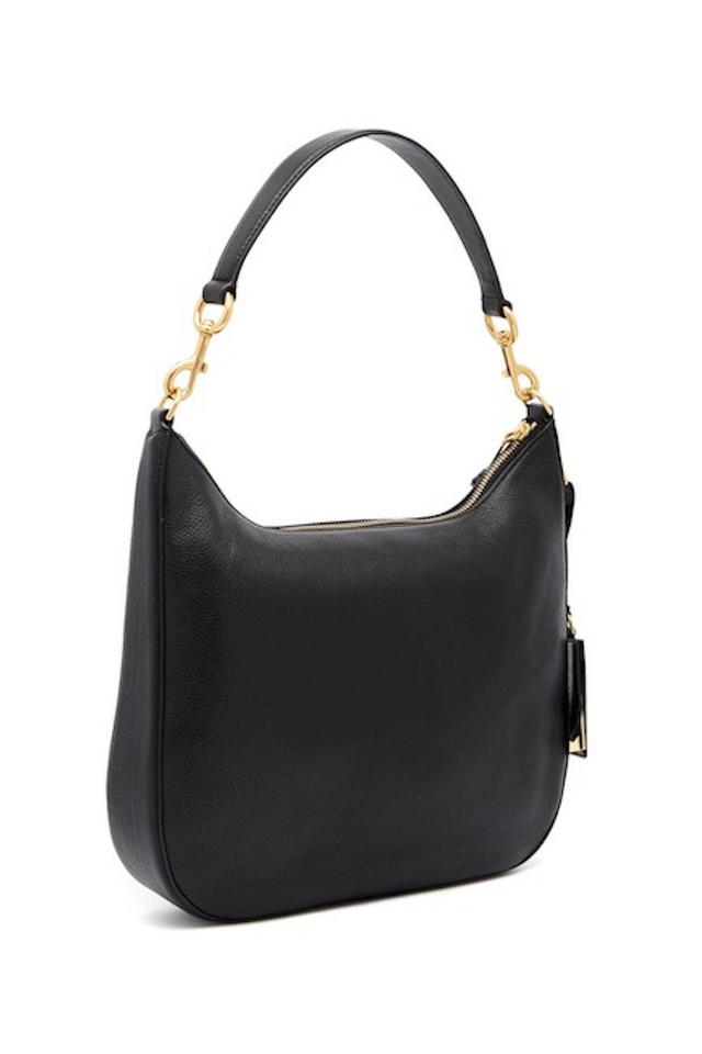 58a619a0dd68 Marc Jacobs Recruit Bauletto Medium Pebbled Leather Satchel in BLACK Image  3. 1234