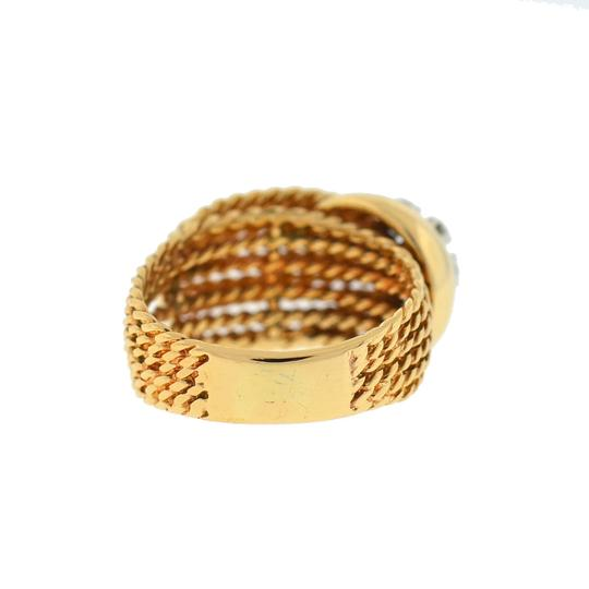 Other 14K Yellow Gold Diamond Rope Style Ring Image 1