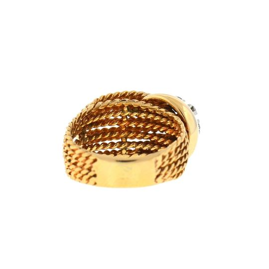 Other 14K Yellow Gold Diamond Rope Style Ring Image 2