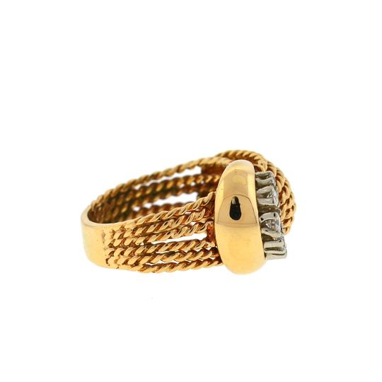 Other 14K Yellow Gold Diamond Rope Style Ring Image 3