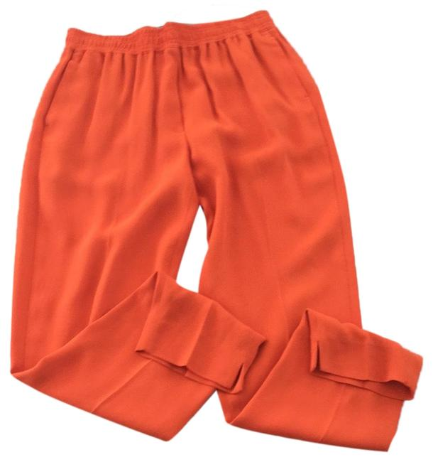 Preload https://img-static.tradesy.com/item/23997973/31-phillip-lim-lava-bright-orange-smocked-waistband-relaxed-fit-pants-size-4-s-27-0-1-650-650.jpg