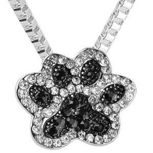 Fashion Jewelry For Everyone Dog Paw Pendant Necklace