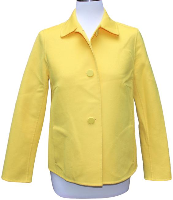 Preload https://img-static.tradesy.com/item/23998008/escada-yellow-cashmere-blend-jacket-coat-size-10-m-0-1-650-650.jpg
