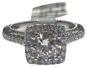 Verragio GORGEOUS!!! Verragio Venetian 18 Karat White Gold and Diamond Ring