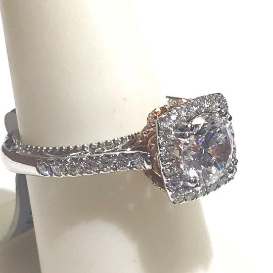 Verragio GORGEOUS!!! Verragio Venetian 18 Karat White Gold and Diamond Ring Image 6