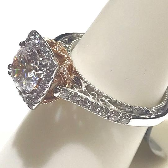 Verragio GORGEOUS!!! Verragio Venetian 18 Karat White Gold and Diamond Ring Image 7
