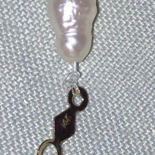 Other 14k gold pearls necklace Image 11