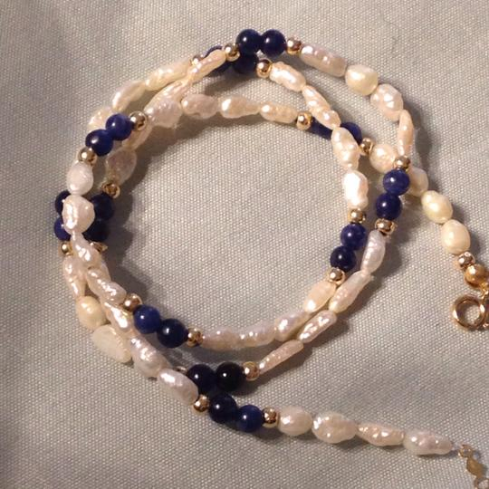 Other 14k gold pearls necklace Image 8