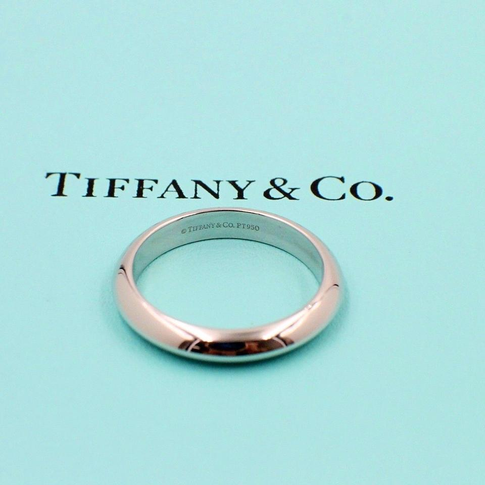 Tiffany Wedding Rings.Tiffany Co Platinum Ring 4mm Wide Men S Wedding Band 32 Off Retail