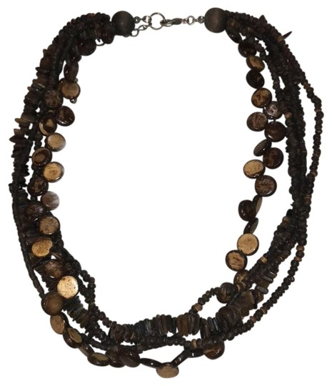 Wooden Bead Necklace Image 0