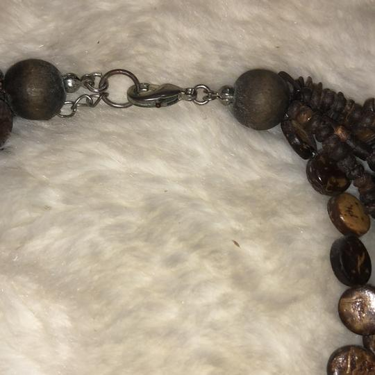 Wooden Bead Necklace Image 3