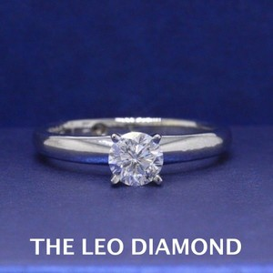 E I1 Round Solitaire 0.45 Cts 14k White Gold Engagement Ring