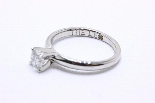 E I1 Round Solitaire 0.45 Cts 14k White Gold Engagement Ring Image 5